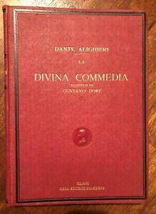 """""""LA DIVINA COMMEDIA"""" - Illustrata da Gustavo Dorè  - 1942 - Edizione Sonzogno -"""