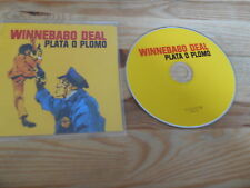 CD Indie Winnebago Deal - Plata O Plomo (7 Song) FIERCE PANDA