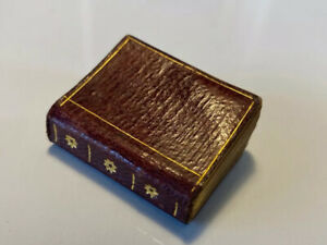 Small Rain Upon The Tender Herb, Daily Biblical Passages, Antique 3rd Miniature