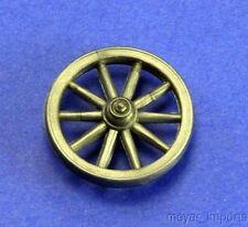 "Wagon Wheels - Set of 25 - 1"" Diameter - Black"
