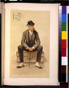 Photo of Vanity Fair,New York Herald,1884,James Gordon Bennett,Suitcase 2417