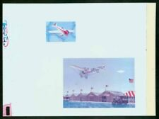 "Uganda 1987 US Airmail Bleriot ""Dragonfly"" MASTER PROOF"