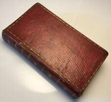 The Book Of Common Prayer & Psalter Or Psalms Of David, 1765 Antique Book