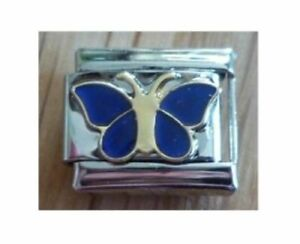 9mm  Italian Charm MB1 Mood Butterfly Changes Colour Fits Classic Size Bracelet