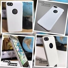Protective Impact Displacement Soft Micro Silicone TPU Apple iPhone 7 White Case