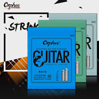 1Set Practiced Nickel Plated Steel Guitar Strings For Electric Guitar RX Series