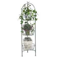 Metall Blumenständer 110cm mit 3 Körben Blumentreppe