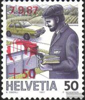 Schweiz 1358 (kompl.Ausgabe) postfrisch 1987 Unwetterhilfe