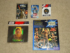 LOT STAR WARS, DARTH VADAR KEYCHAIN YO-YO GUM DISPENSER MOUSE PAD ILLUMINATIONS
