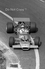 Jochen Rindt Gold Leaf Team Lotus 49B French Grand Prix 1969 Photograph 2