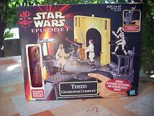Star Wars: Theed Generator Complex avec Battle Droid Hasbro (1999) boite scellée