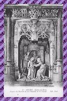 CPA 01 - BOURG - Eglise de BROU - Figure du retable de la chapelle de la vierge