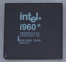 Intel i960 a80960ca33 33mhz CERAMIC pga168 32-bit processore RISC CPU Processor
