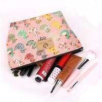 Toiletry Holder Cosmetic Pouch Pencil Case Bag Purse Organizer Wallet Case WA