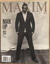 Maxim Man Up Idris Elba In Prada September 2015 FREE SHIPPING!