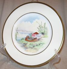 Minton Wigeon Game Plate Artist Signed