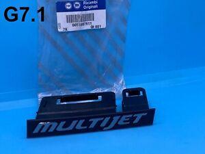 "New Genuine OEM Fiat Bravo Front Grille ""Multijet"" Badge 51807911"
