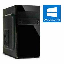 Dual CORE PC INTEL G6400 @4,0GHz 8-32GB DDR4 SSD+HDD UHD Grafik Win10 Computer