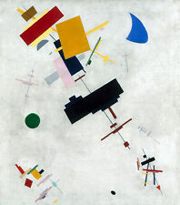 Suprematism Kasimir sewerinowitsch malevitch formas círculos rectángulos B a3 02754