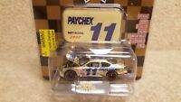 New 1998 Racing Champions 1:64 NASCAR Gold Brett Bodine Paychex Ford Taurus a