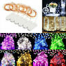 6 Pack 20 LED Battery Micro Rice Wire Copper Fairy String Lights Decor 2M - Bs