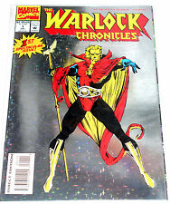 WARLOCK CHRONICLES #1  HOLOGRAFIX EMBOSSED COVER 1993