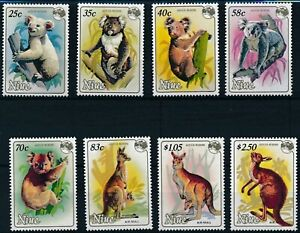 [P15657] Niue 1984 : Marsupials - Good Set Very Fine MNH Stamps