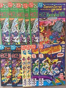 Captain Carrot Oz Wonderland War 1-3 1986 #1 1982 F/VF+ 12 Book Lot
