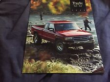 1995 Mazda B Series Sport Truck like Ford Ranger USA Color Brochure Prospekt