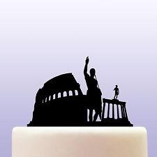 Acrílico la civilización romana & Antigua Roma Cake Topper Decoración Recuerdo Regalo