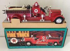 "1998 ERTL 1929 MACK FIRE TRUCK BANK ""TEXACO"". NIB"