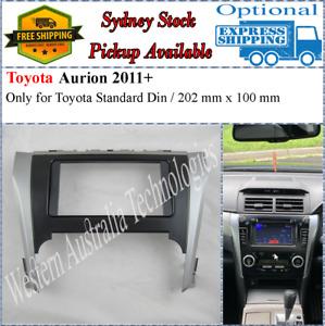 Fascia facia Fits Toyota Aurion 2011+ Double Two 2 DIN Dash Kit