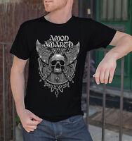 Amon Amarth Men Black T-Shirt Death Metal Band Tee Shirt Vikings Swedish Metal 5