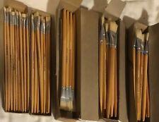Lot New Grumbacher Premium Artist Paint Brushes,