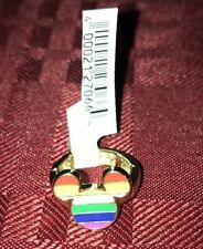 Disney Parks Mickey Rainbow Pride RING NEW