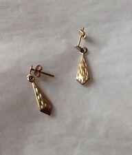 Argos Yellow Gold Precious Metal Earrings without Stones