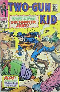 Two-Gun Kid #92 Marvel Comic 1967 Silver Age VG