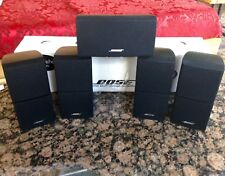 5 Bose Mint Acoustimass Lifestyle Double Cube Speaker Incl Center Direct Reflect