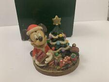Rare Disney Harmony Kingdom Limited Edition Cookies For Santa (500) Wdwmmsa Le