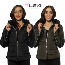 Waist Length Nylon Quilted Outdoor Coats & Jackets for Women