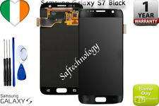 ORIGINALE BLACK SAMSUNG GALAXY S7 G930F SM-G930F LCD TOUCH SCREEN DISPLAY+ KIT
