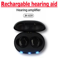 A39 Invisible Rechargeable Mini In the Ear Hearing Aids Sound Voice Amplifier