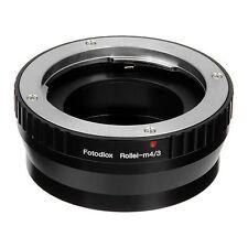 Fotodiox Objektivadapter Rollei 35mm Linse für Micro FourThirds (M4/3) Kamera