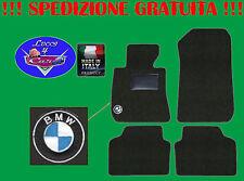TAPPETINI tappeti BMW serie 1 E87 con ricami e battitacco in gomma
