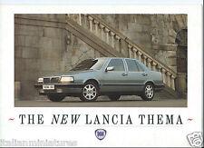 Lancia Thema ie 16V LX Turbo 16V Original 1988 Brochure Enquiry Card English