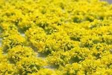 Miniature Self Adhesive Static Flowering Shrub Tufts - 6mm Yellow Army Pack