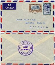 MEDICAL CEYLON 1963 AIRMAIL to NETHERLANDS