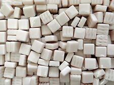 100g #22 Almond Ivory Bisazza Opus Romano Mosaic Tiles 12x12x6mm