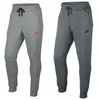Nike Air Joggers Bottoms Pants Sweatpants Pants Fleece Tracksuit Grey Mens L XL