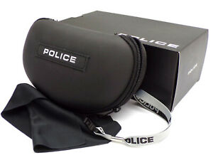 POLICE Sunglasses Case - Cloth & Lanyard Included - BOXED Authentic
